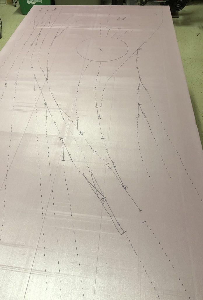 drafting a track plan